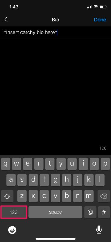 How to Type Return / Insert Line Breaks on Twitter, Tik Tok,  or Instagram for iPhone