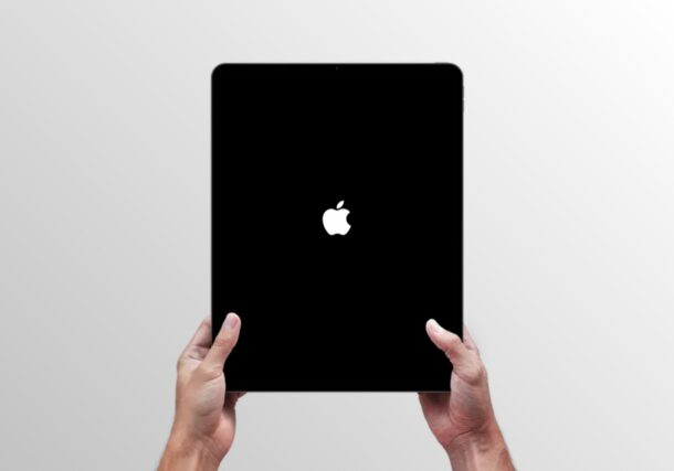 How to Force Restart New iPad Air (2020 Model)