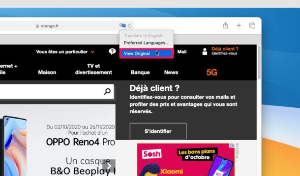 How to Use Translate Webpages in Safari for Mac
