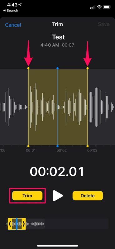 How to Trim Voice Memos on iPhone & iPad