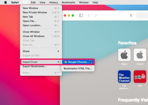How to Import Passwords & Logins from Chrome to Safari on Mac