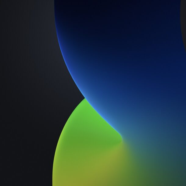 Get the iOS 14 Default Wallpapers