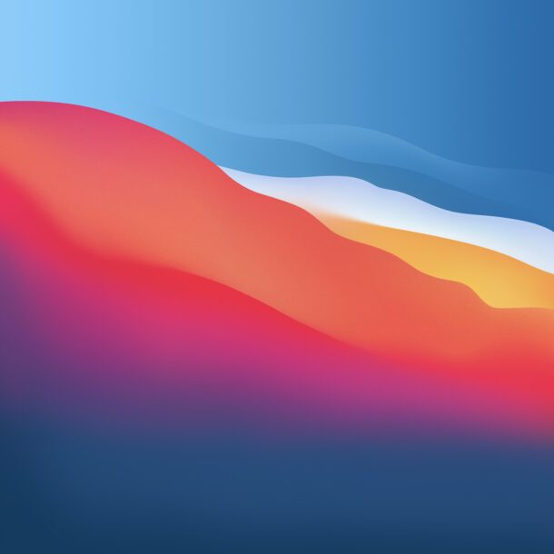 Get the macOS Big Sur Default Wallpapers