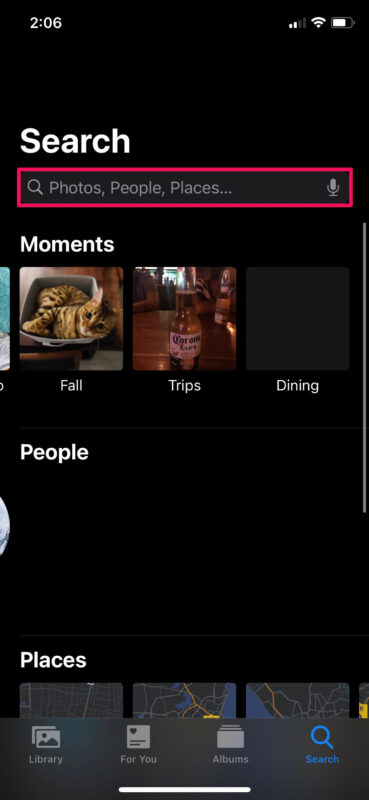 How to Search Photos by Captions on iPhone