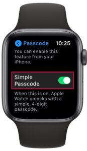 How to Use 6-Digit Passcode on Apple Watch