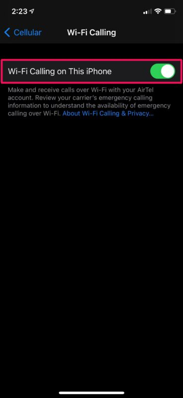 How to Troubleshoot Wi-Fi Calling