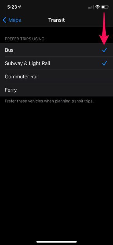 How to Change Default Navigation Method on iPhone