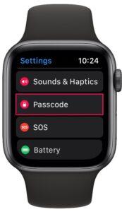 How to Change Apple Watch Passcode