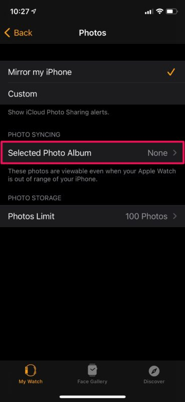 How to Add Photos to Apple Watch