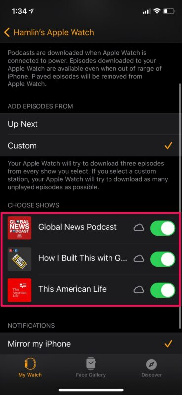 How to Add Podcasts to Apple Watch