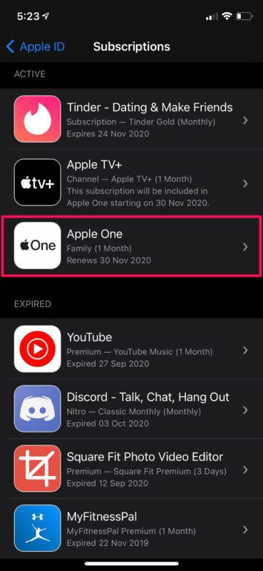 How to Change Apple One Subscription Plan