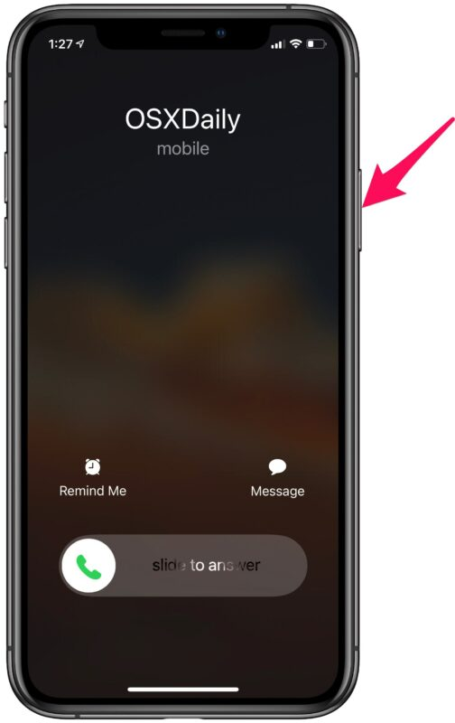 How to Decline a Phone Call on iPhone