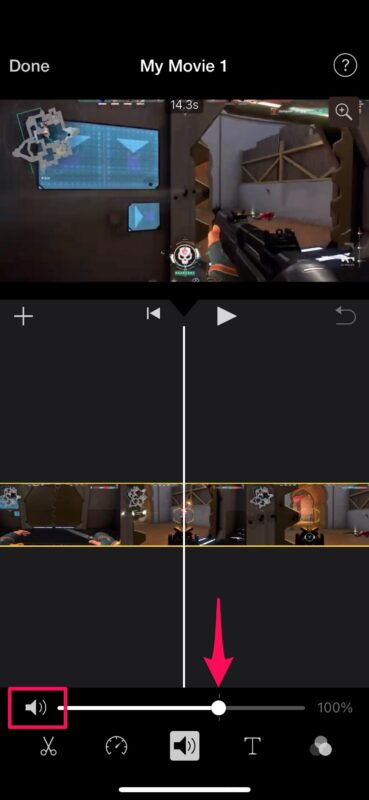 How to Remove Audio from Video with iMovie on iPhone & iPad