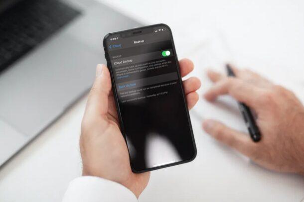 iCloud Backup Troubleshooting