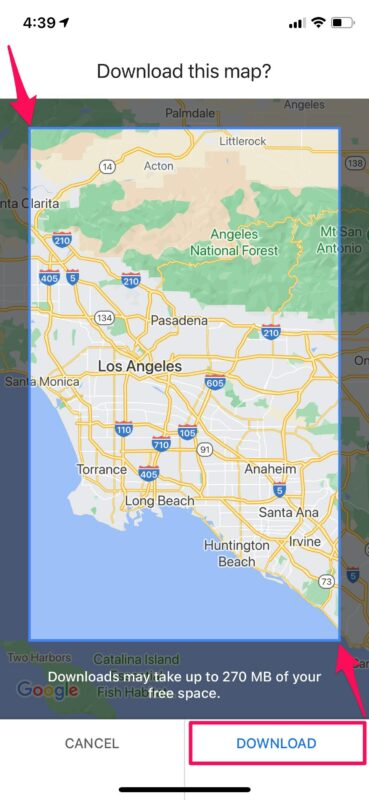 How to Download Offline Maps in Google Maps for iPhone