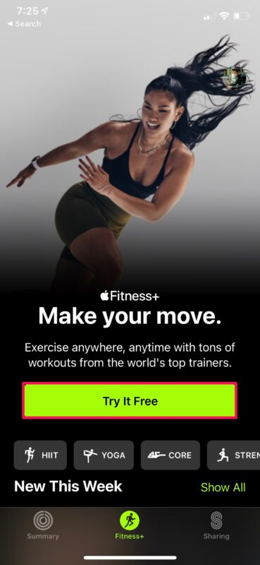 How to Sign Up for Apple Fitness+