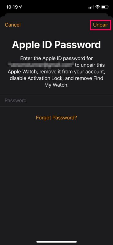 How to Restore Apple Watch from Backup