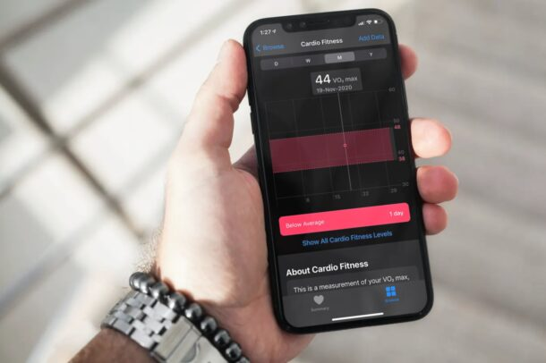 How to Set Up Cardio Fitness Levels on iPhone & Apple Watch