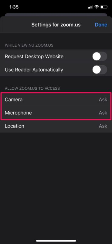 How to Block Microphone & Camera Access for Websites on iPhone & iPad