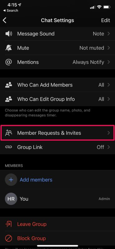 How to Add & Remove People in Signal Group Chat