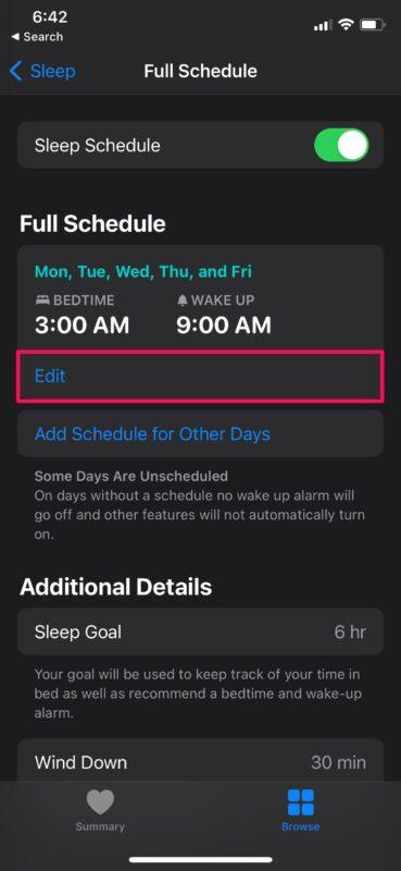 How to Adjust Your Sleep Schedule on iPhone & iPad