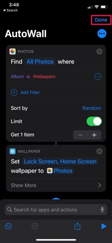 How to Automatically Change iPhone Wallpaper with Shortcuts