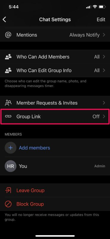 How to Create a Signal Group & Signal Group Link