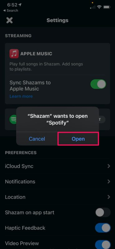 How to Link Shazam to Spotify Instead of Apple Music
