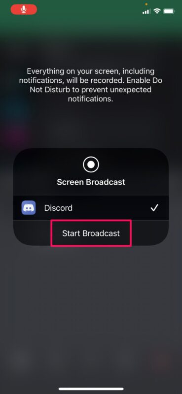 How to Use Screen Share With Discord on iPhone & iPad