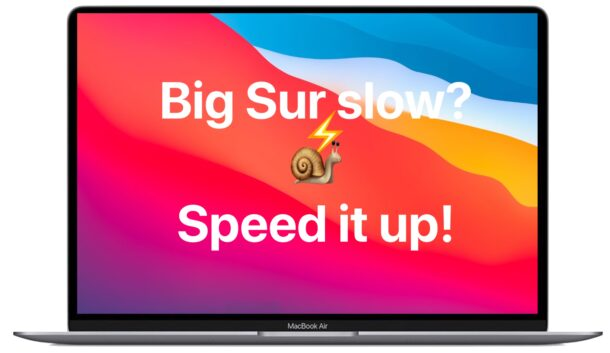 If macOS Big Sur feels slow here are tips to speed it up