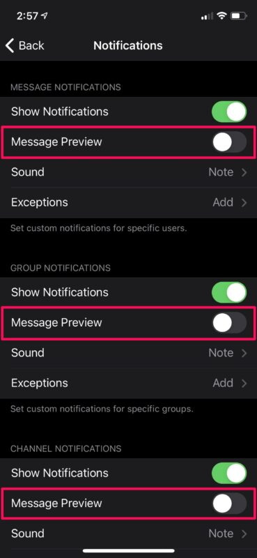 How to Stop Telegram from Showing Message Previews on iPhone