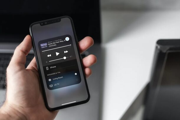 How to AirPlay YouTube Audio on HomePod