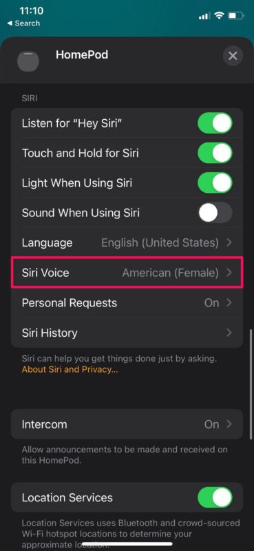 How to Change Siri Voice & Accent on HomePod