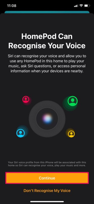 How to Set Up HomePod Multiple User Voice Recognition
