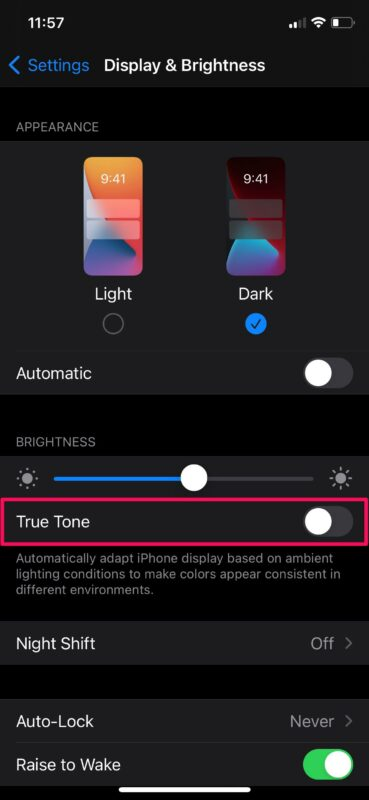 iPhone / iPad Screen Dimming Automatically? Here's Why & How to Fix
