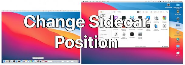Change Sidecar iPad position on Mac and