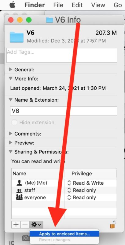 Fix Mail permissions on Mac