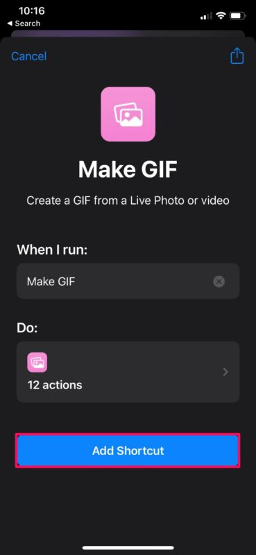How to Convert Video to GIF on iPhone & iPad