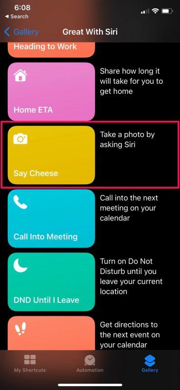 How to Take Photos on iPhone & iPad with Siri