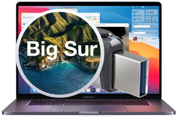 MacOS Big Sur bootable USB installer