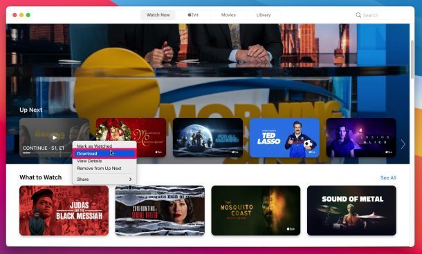 How to Download Apple TV+ Shows on Mac