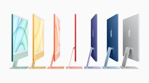 M1 iMac lineup