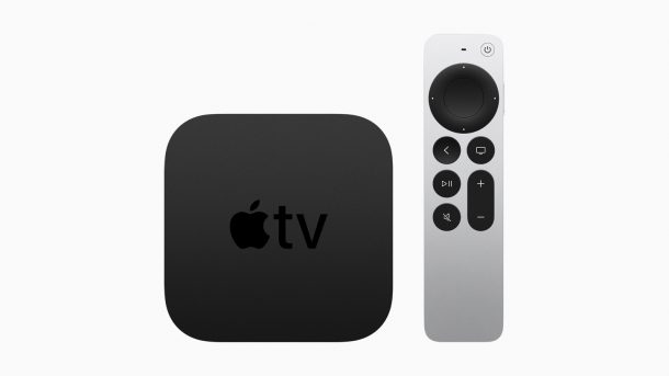 Apple TV with redesigned Siri Remote