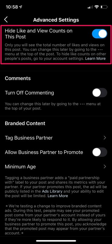 How to Hide Like and View Counts on Instagram