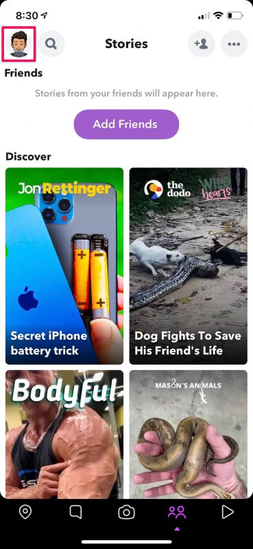 How to Use Dark Mode in Snapchat on iPhone
