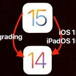 Downgrading iOS/iPadOS 15 beta without losing data