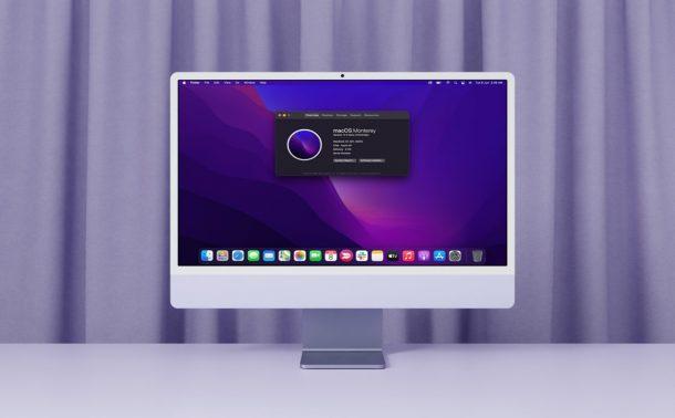 How to Install macOS 12 Monterey Developer Beta