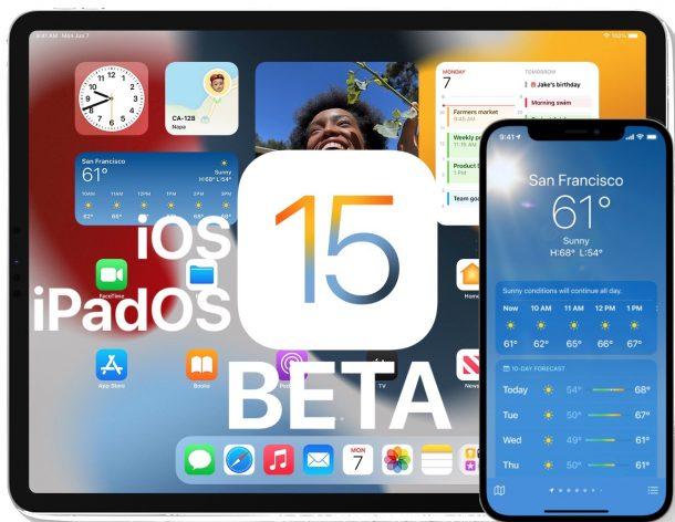 iOS 15 GM and iPadOS 15 GM beta