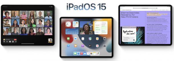 iPadOS 15 compatible devices