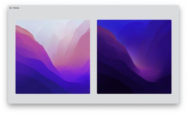 MacOS Monterey Default Wallpapers